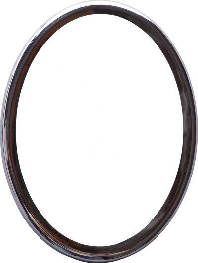 Marco de acero ovalado