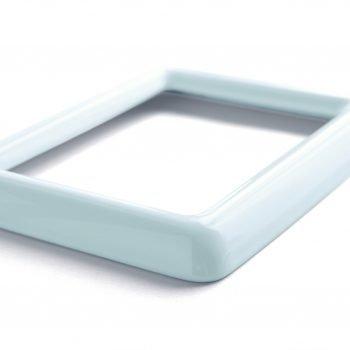 Marco de porcelana rectangular