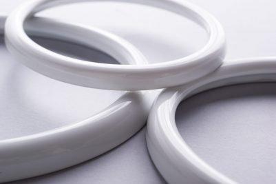 Detalle de marcos de porcelana