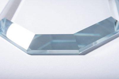 Ground Octagonal Crystal-Detail