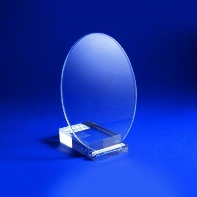 Cristal ovalado 5 mm