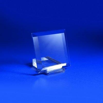 Cristal de tierra cuadrado