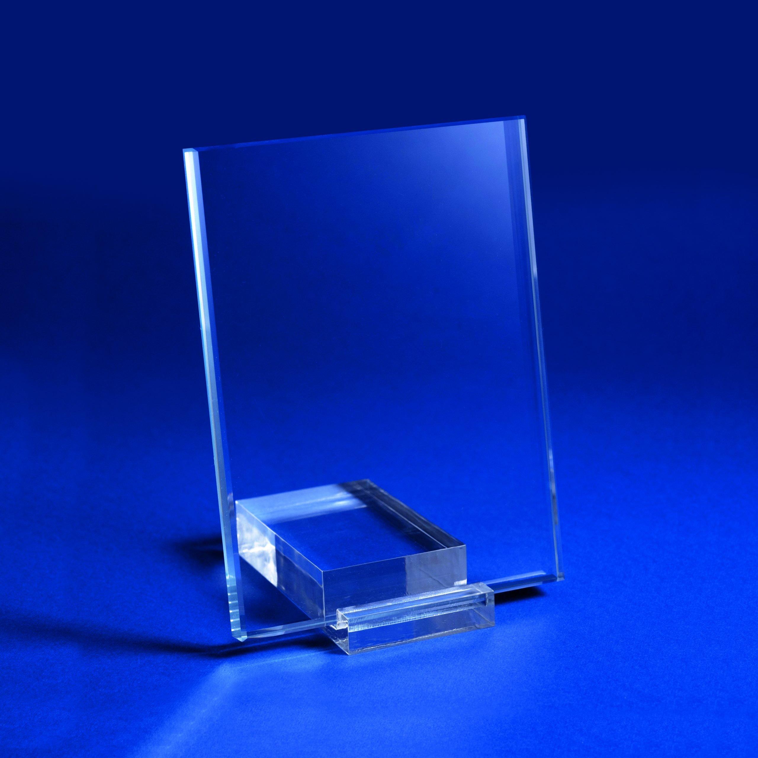 Cristallo Rettangolare 12 mm