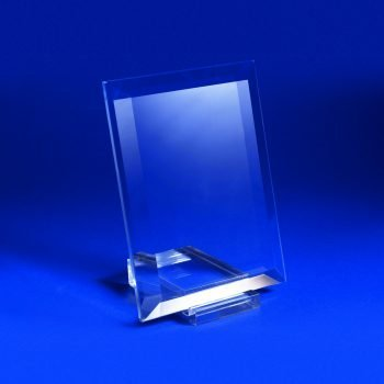 Cristal rectangular molido