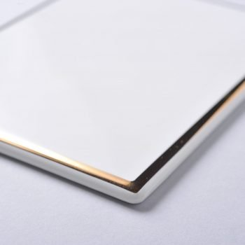 Gold Rectangular 3.5mm wire-Detail