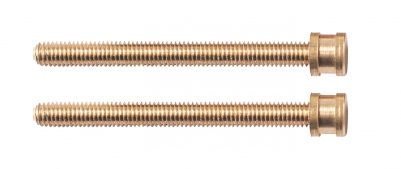 Screw kit for books and parchments