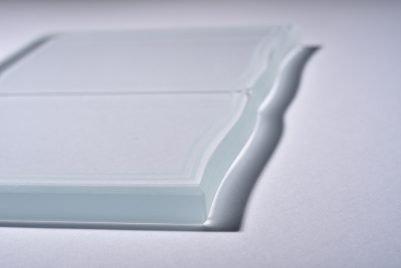 Detalle de cristal ondulado