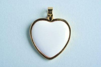 Corazón de oro precioso