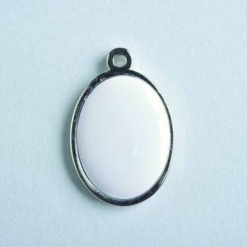 Preciosa plata ovalada