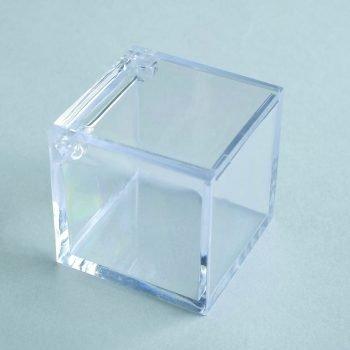 Square box 4,5x4,5x4,5cm