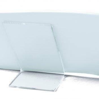 Plexiglass support
