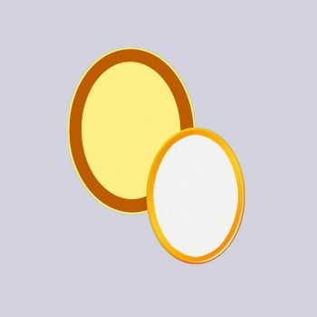 bordo-oro-ovale