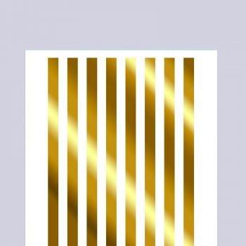 stripes-gold