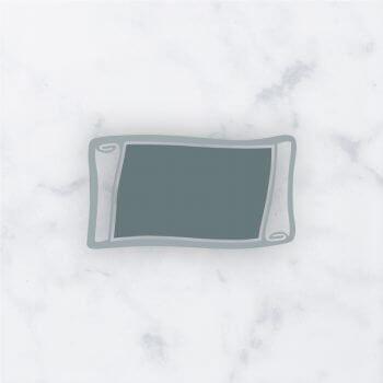 piastrino classica per cristalli